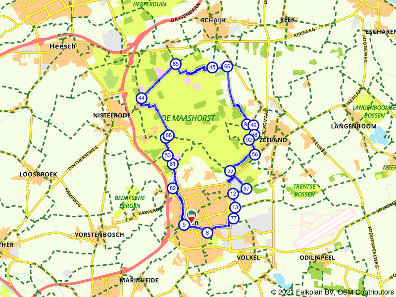 Uden, Volkel en Maashorst