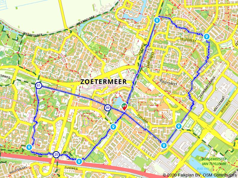 Rondje wandelen in Zoetermeer