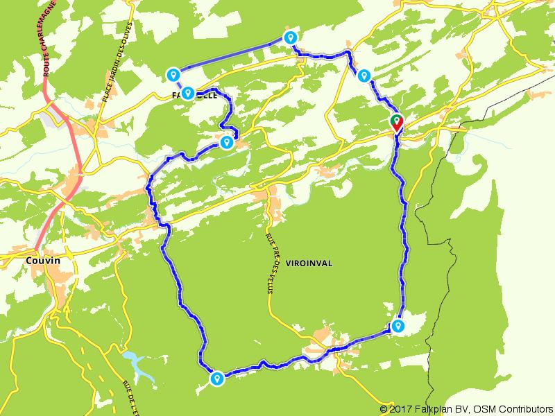 Door de Ardennen en de Calestienne bij Treignes