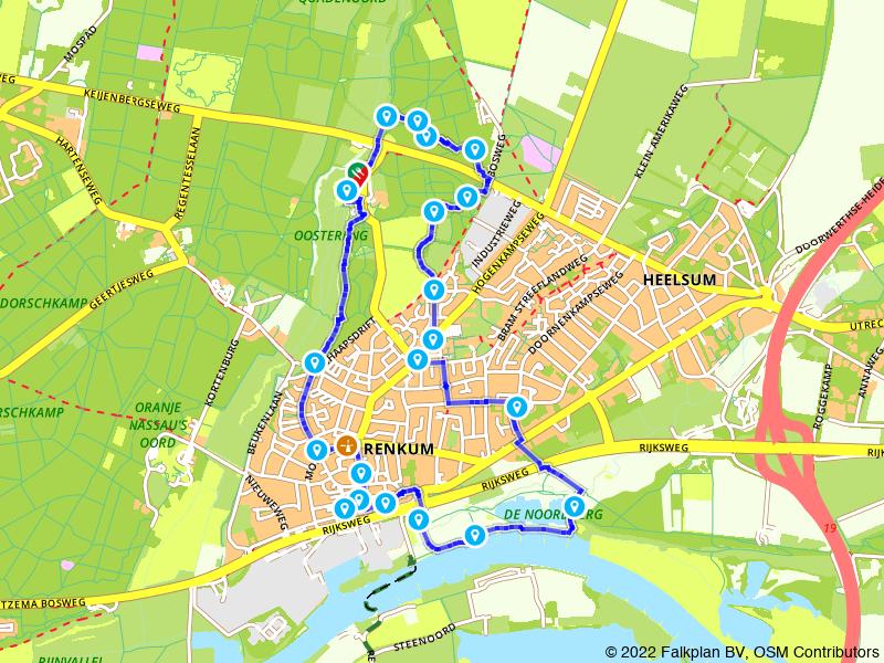 Rondje Renkum en Rijnvallei