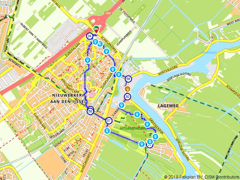 Rondje Hitland en Hollandse IJssel