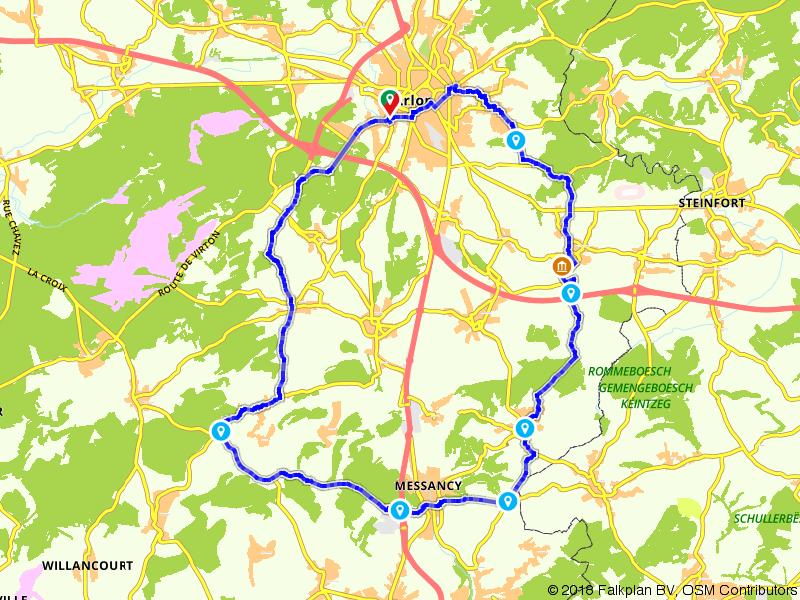 Arlon, Habergy en Selange
