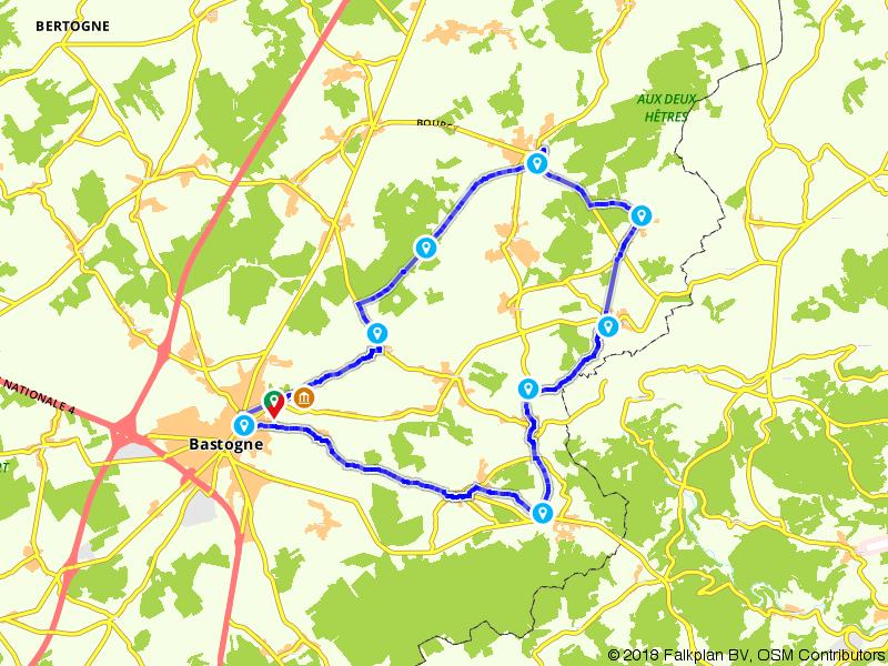Op de fiets door het Land van Bastogne