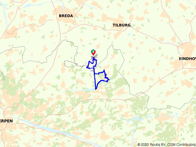 Rondje Turnhout vanuit Baarle-Nassau
