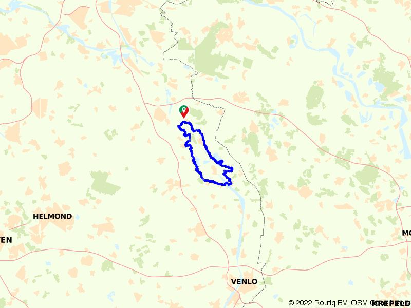 Rondje Maas en Maasduinen vanuit Afferden