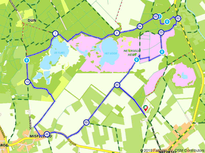 Wandelrondje Neterselse Heide