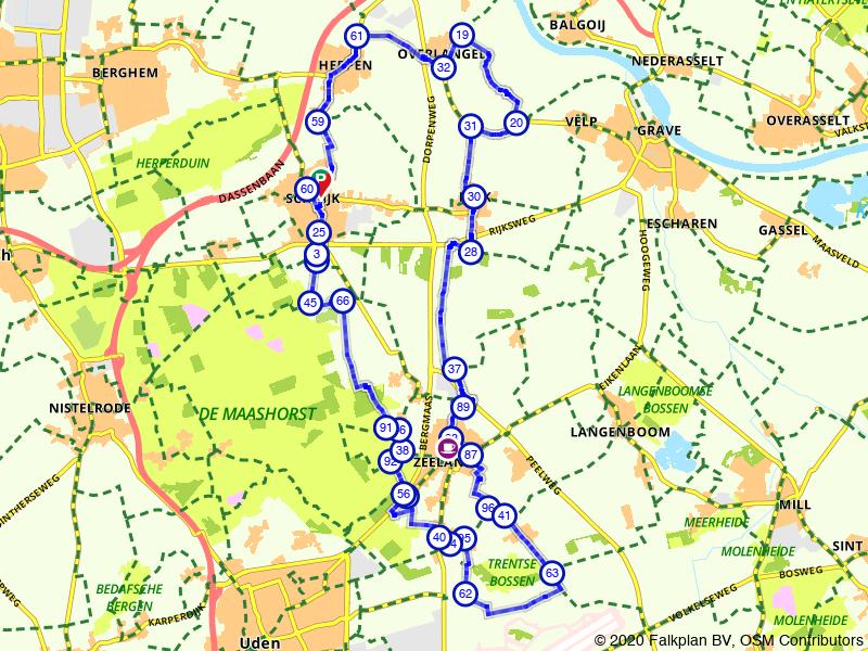 Rondje Liberation Route Landerd
