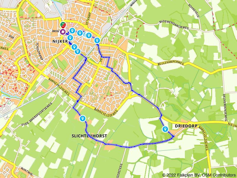Rondje Nijkerk en Slichtenhorst