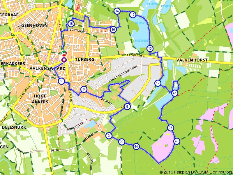 Wandelrondje Schaapsloopven en Valkenhorst