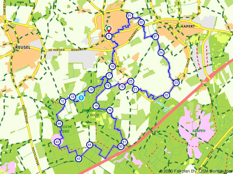 Landgoed Ten Vorsel en Peelsche Heide