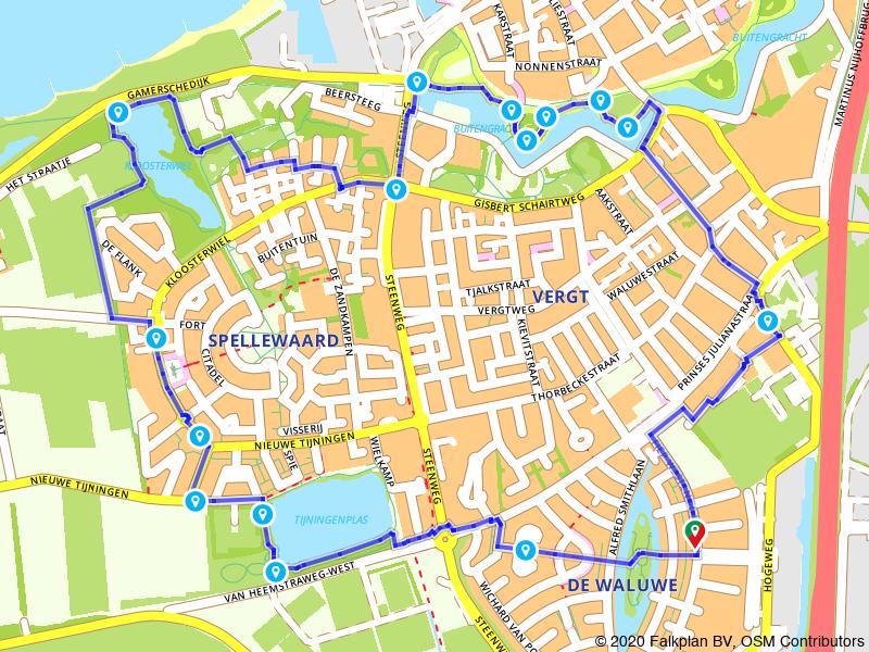 Rondje wandelen door historisch Zaltbommel