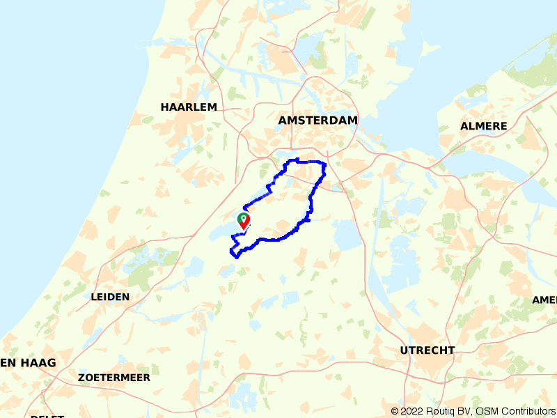 Rondje Amsterdamse Bos en Amstel