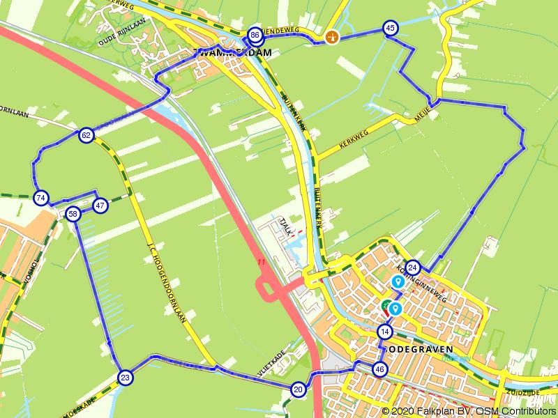 Rondje Zwammerdam vanuit Bodegraven