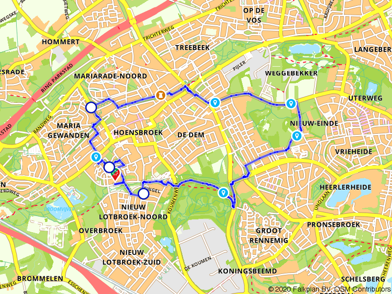 Wandelrondje Hoensbroek: Koumenberg en Kasteel Passarts-Nieuwenhagen