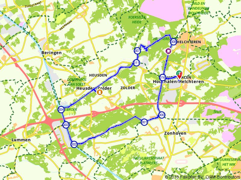 Viversel, Houthalenberg en Bolderberg