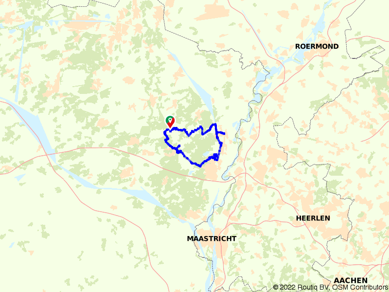 E-bike route Mechelse Heide en Dilsen-Stokkem