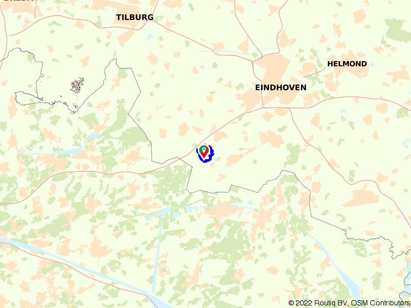 Wandelroute Witrijt en Boswachterij De Kempen