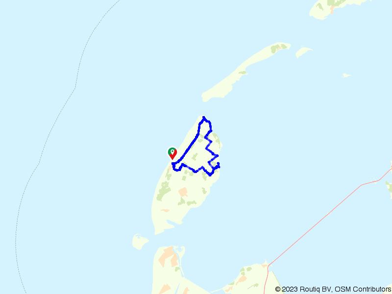 Het rondje in Texel