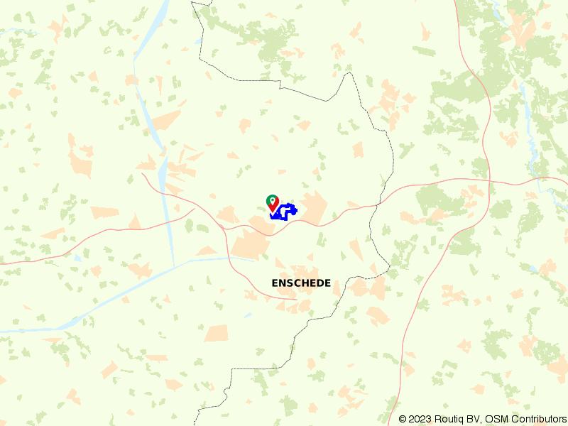 Route Het Hulsbeek vanuit Deurningen
