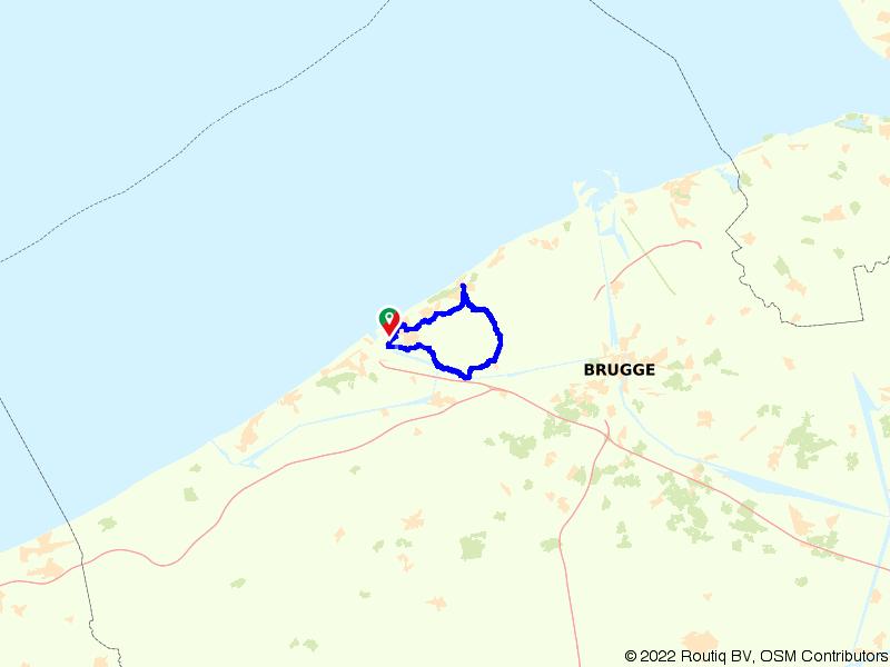 Oostende, Bredene, De Haan
