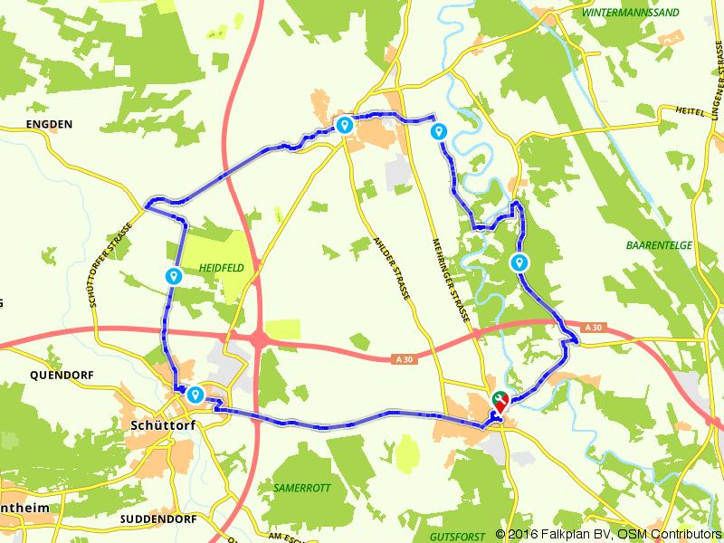Salzbergen, Emsbüren, Quendorf