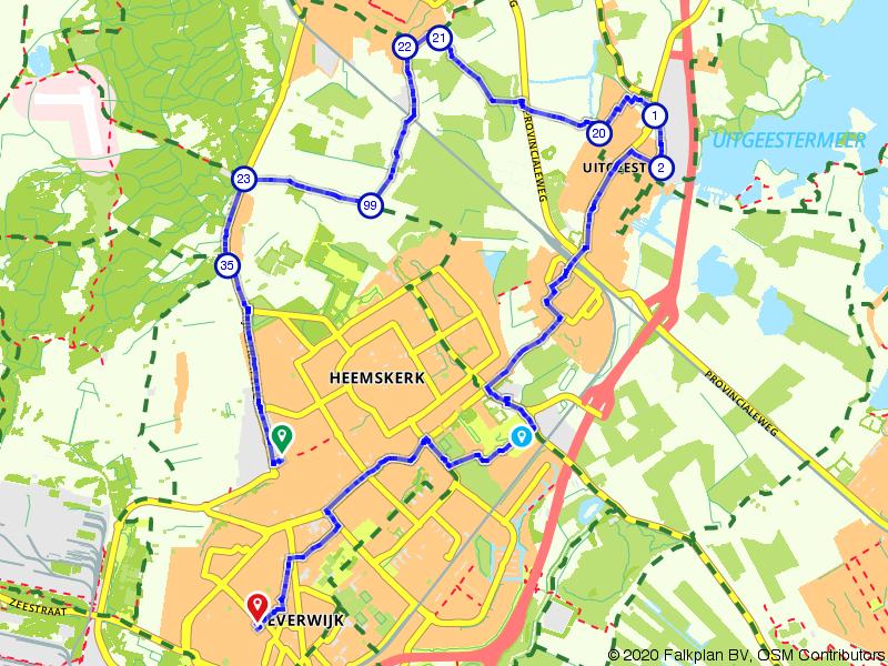 Van Heemskerk naar Beverwijk 20