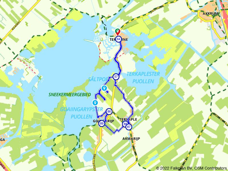 Rondje Terhorne: vergezichten over het Sneekermeer