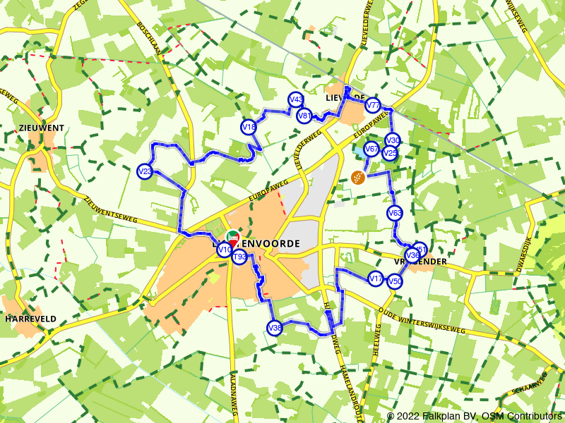 Rondje Lichtenvoorde: langs kei en wijngaard