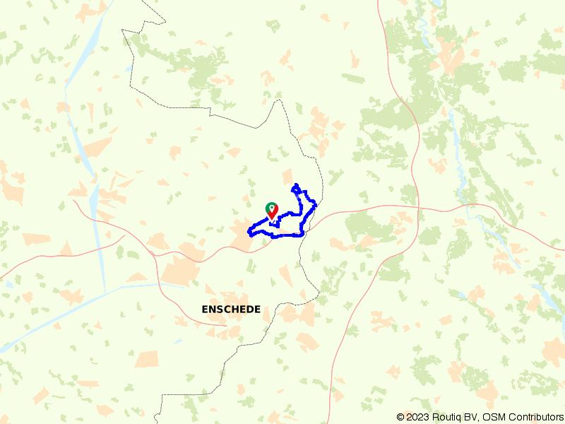 Rondje Oldenzaal, Lutterzand en De Lutte