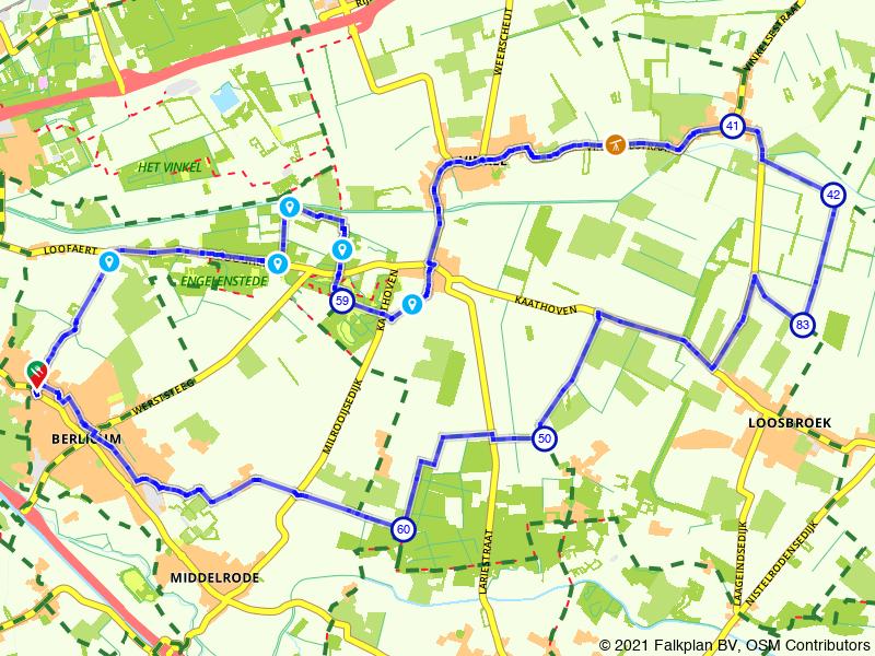 Natuurrijke fietsroute door Noord-Brabant