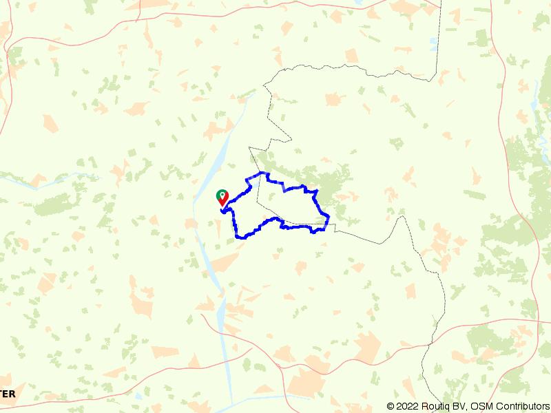 Het Twents-Duitse grensgebied bij de Engbertsdijksvenen