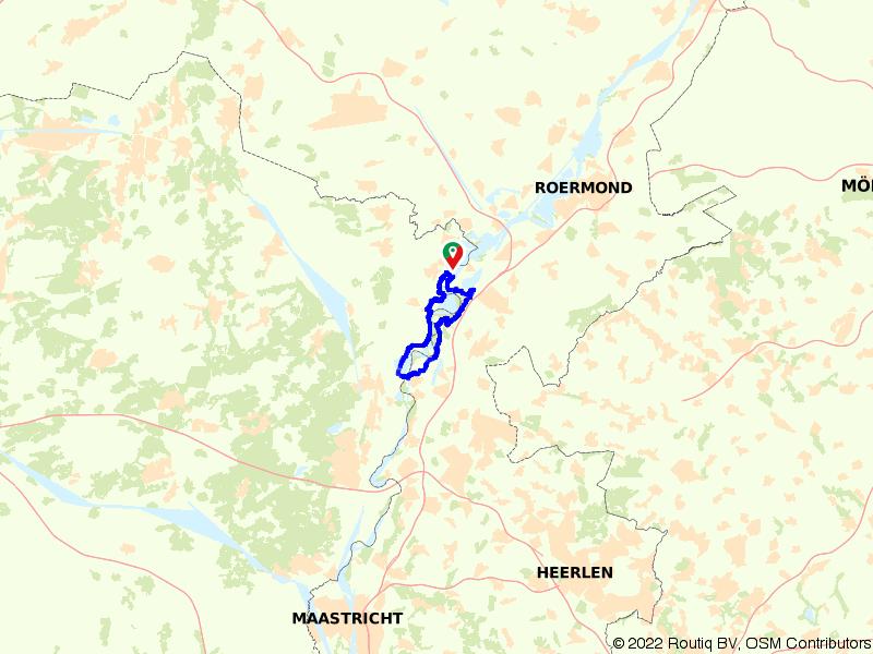 Uitwaaien langs de Maas