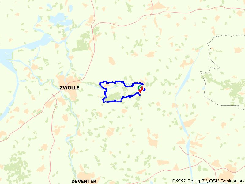 Rondje Vechtdal langs Vilsteren en Dalfsen
