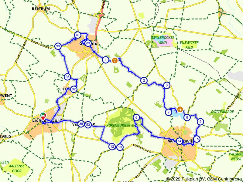 Lichtenvoorde, Groenlo en Winterswijk