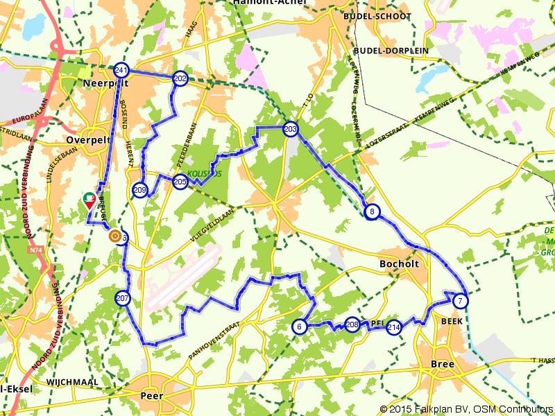 De Dommelvallei bij Overpelt