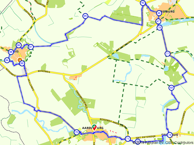 Sluis, Oostburg en Aardenburg