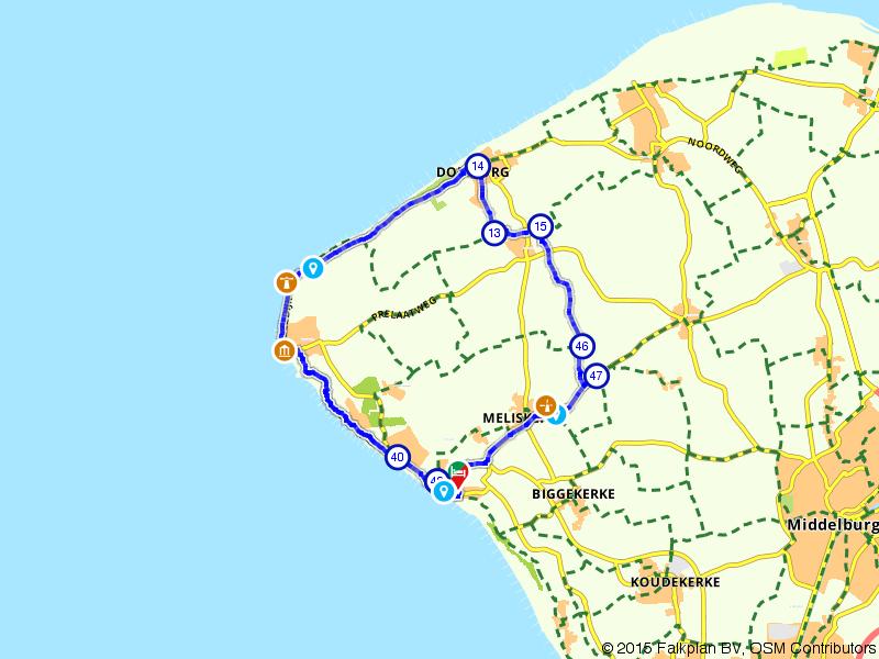 Zoutelande, Westkapelle en Domburg