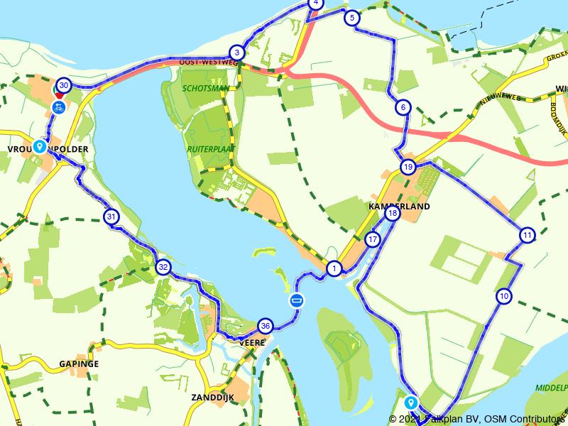 Kamperland, Neeltje Jans en Breezand