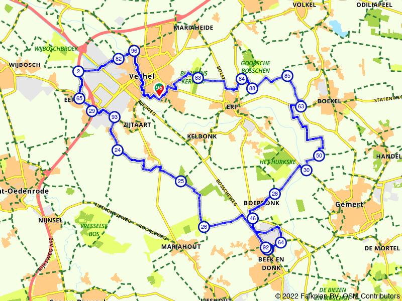 Op de fiets door het Brabantse Land