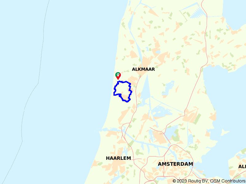 Rondje Castricum, Heiloo en Egmond-Binnen