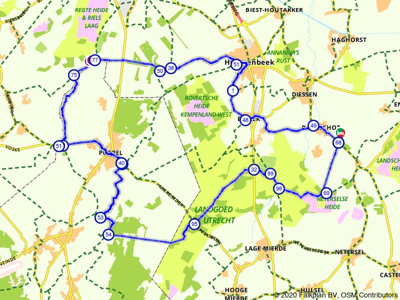 Historische landgoederen rondom Hilvarenbeek