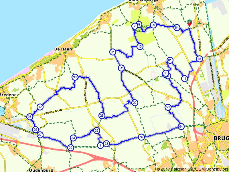 Op de fietsen door het Brugse Ommeland