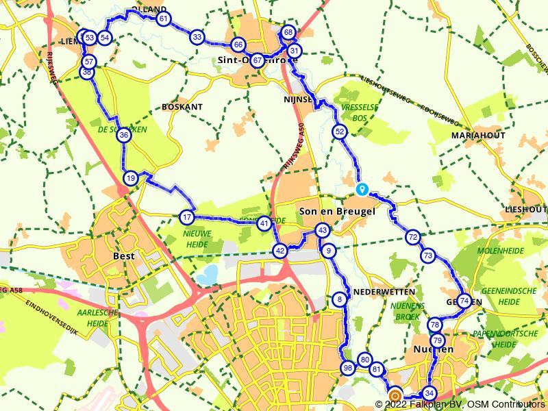 Een Brabants rondje tussen Helmond en Lieshout