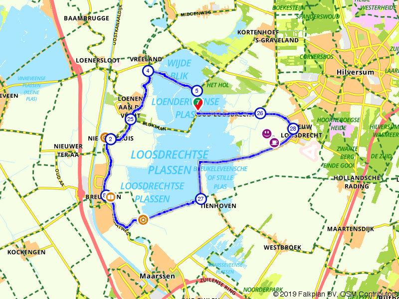 Rondom de Loosdrechtse plassen