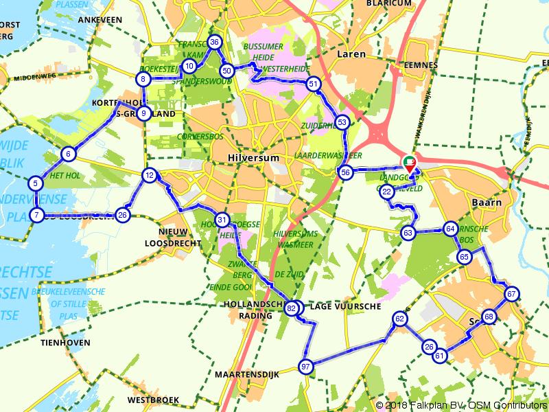 Lommerrijke route langs de Loosdrechtse Plassen