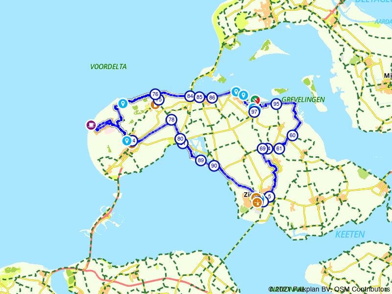 Brouwershaven, Zierikzee en Burgh-Haamstede