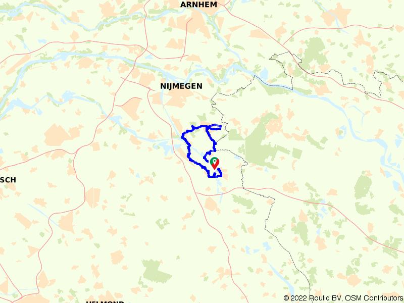 Cuijk, Groesbeek en Gennep