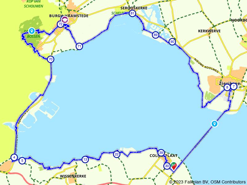 Van Zeelandbrug naar Oosterscheldekering