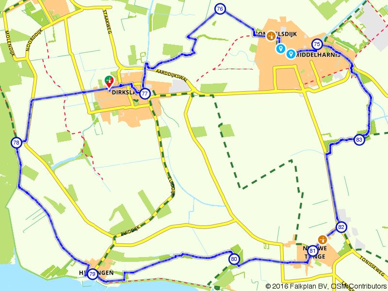 Dirksland, Nieuwe-Tonge en Middelharnis