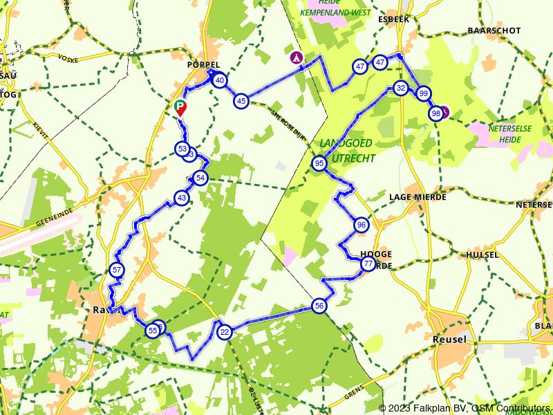 Eindeloze bossen bij Landgoed De Utrecht